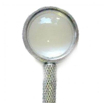 Stiletto per auricolo con lente