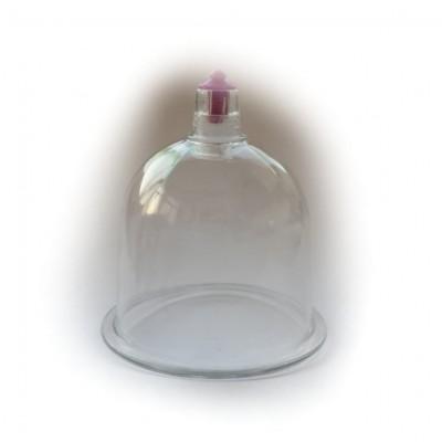 Coppetta in vetro per trattamento del viso