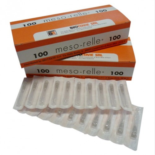 Aghi per mesoterapia 27G X 6 mm