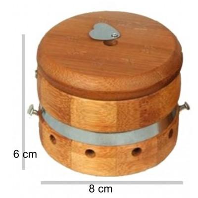 Box in legno per moxibustione