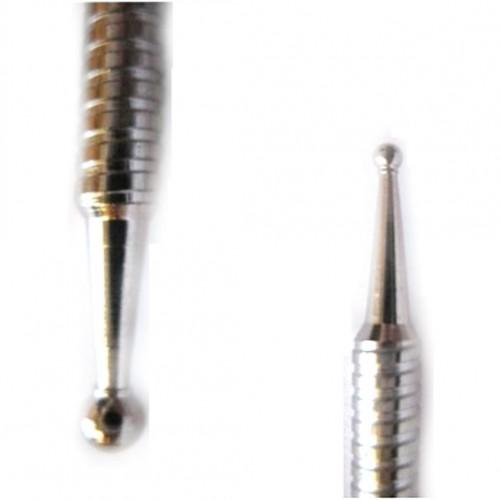 Stiletto-absatz in zwei spitzen aus