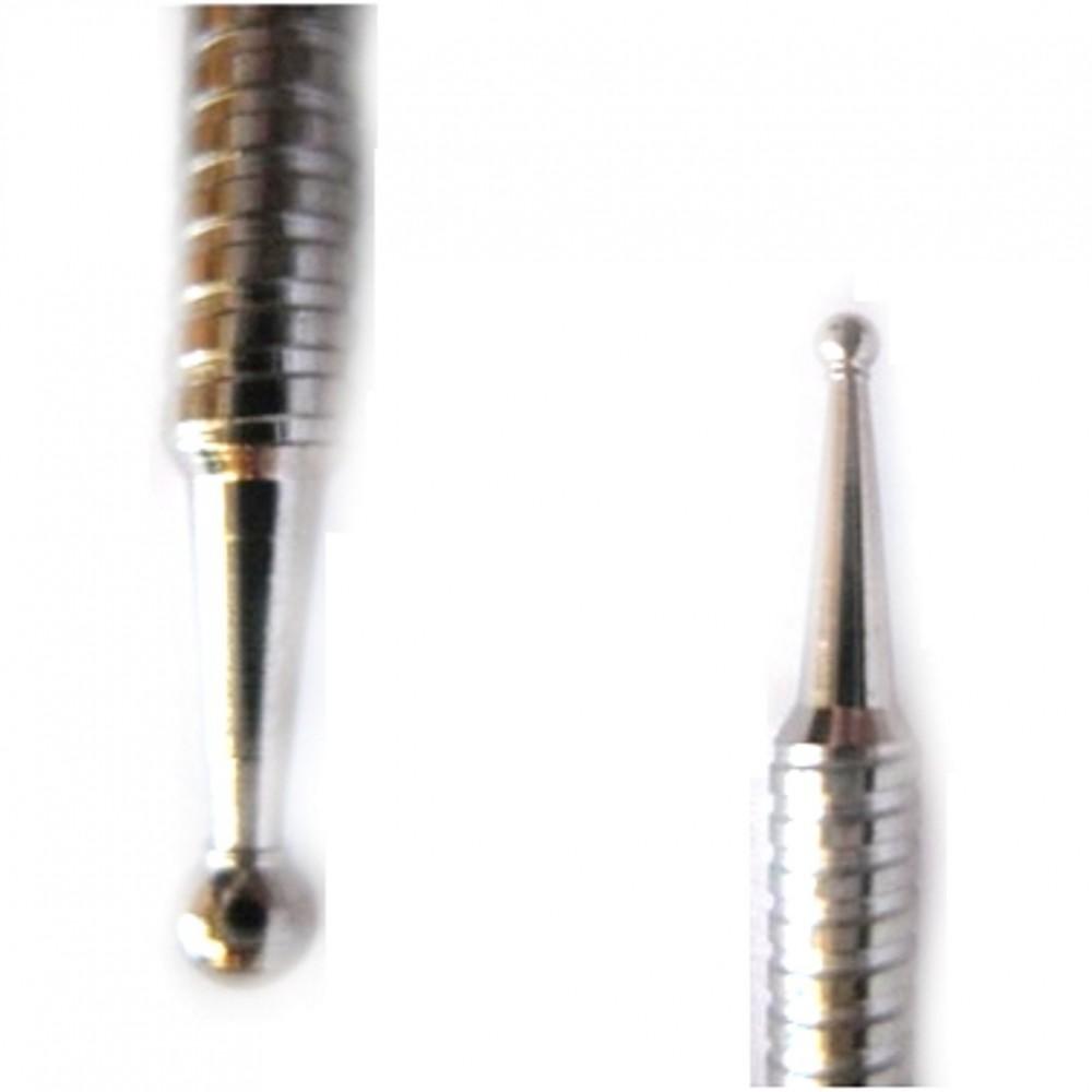 Tacón de aguja de dos puntas de acero