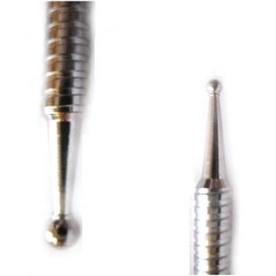 Stiletto a due punte in acciaio
