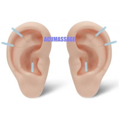 par de orejas de la medición reales
