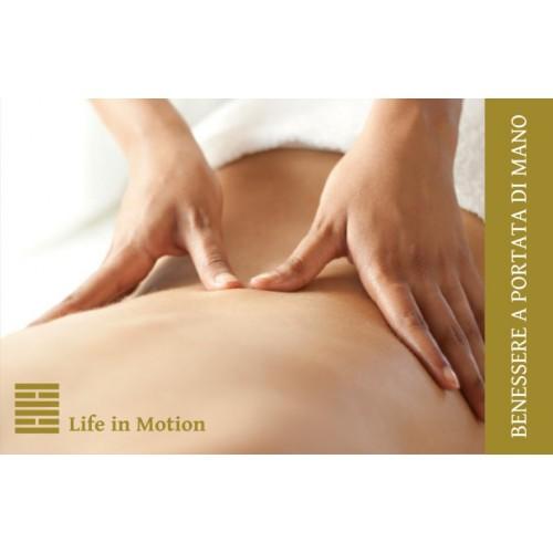 La carte d'affaires de Massage