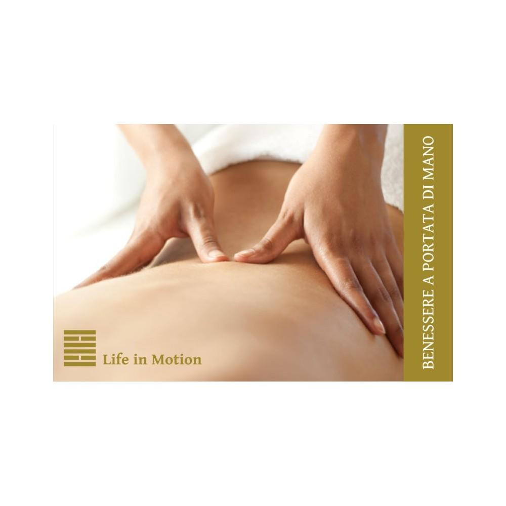 Biglietto da visita Massaggio