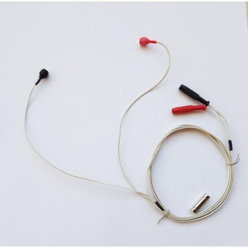 Câble pour auriculothérapie