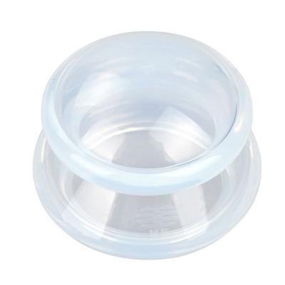 La copa de silicona de 6 cm