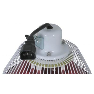 Piastra minerale per lampada infrarossi con stativo