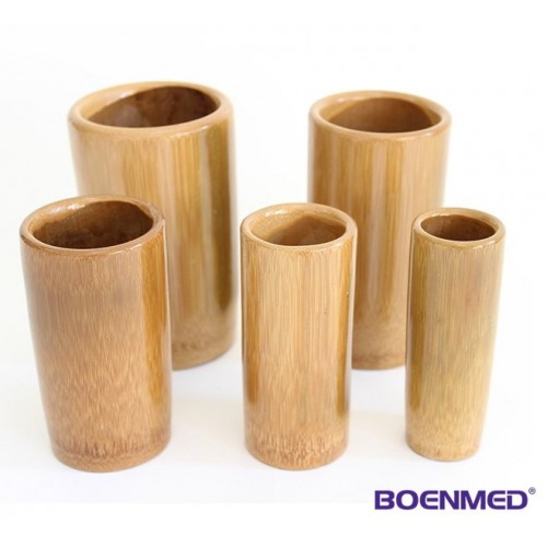 Coppette in bambù, 5pz