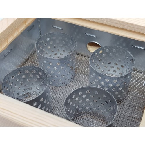 Wooden boxes for moxibustion