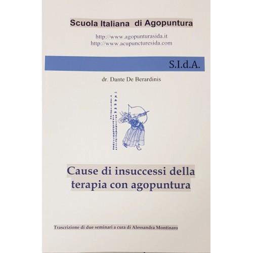 Cause di insuccesso della terapia con agopuntura