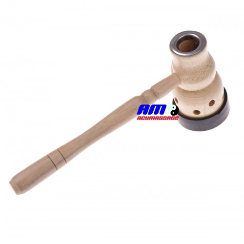 Wooden Moxa Roll Burner