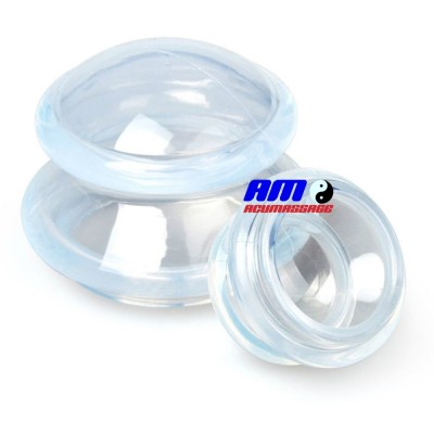 Tazas de la succión de la copa transparente