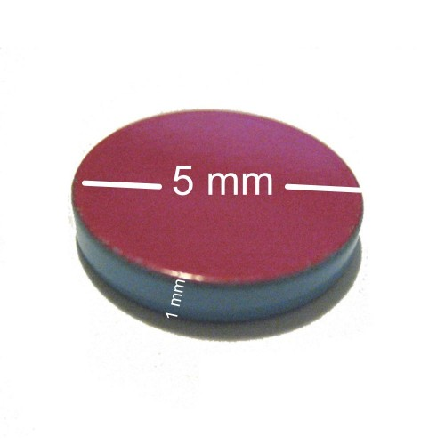 Magnete in Neomidio 24 mm dia-  12500 G