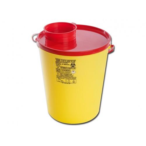 Boîte pour l'élimination des aiguilles 0,6 L.