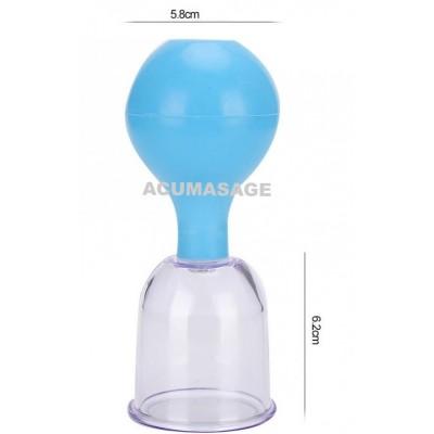 Set in plastica con soffietto- 5 misure