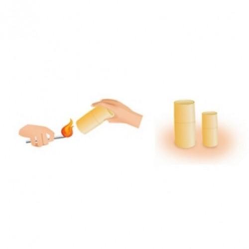 Tazas de bambú