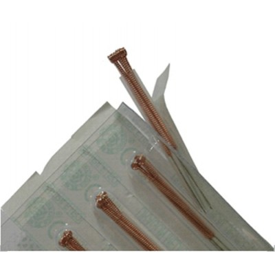 Manija de cobre , 500 agujas