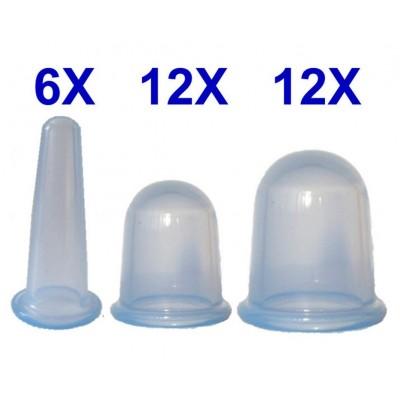 Set 30 Flaschen silikon