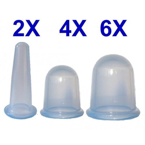 Juego de 12 Tazas de silicona