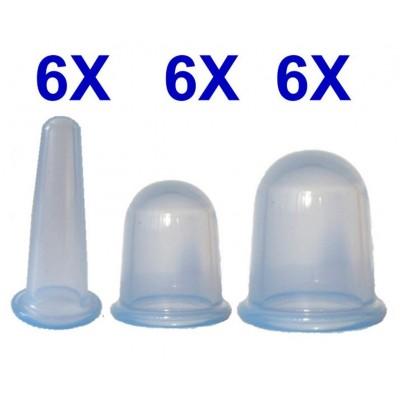 Set 18 Coppette in silicone