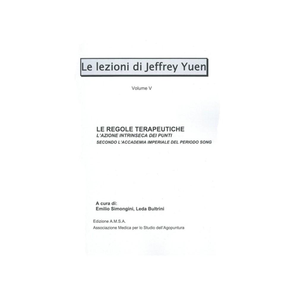 Le regole terapeutiche - V lezione
