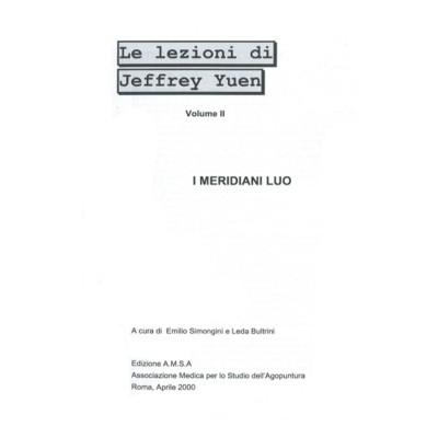 I meridiani Luo - II lezione