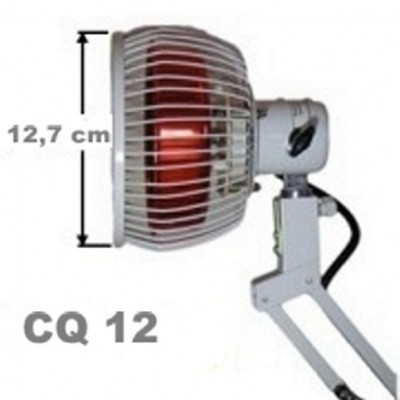 The infrared lamp from the table