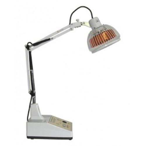 La lámpara infrarroja de la tabla