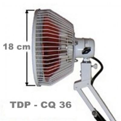 La lámpara de infrarrojos en la statio