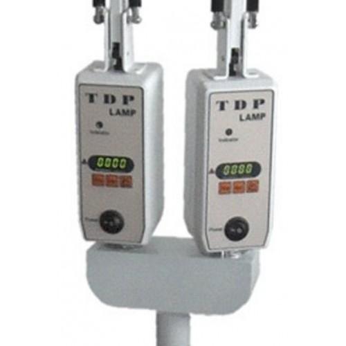 Eine infrarotlampe mit stativ - Timer, digital-doppel-kopf