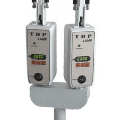 Infrared lamp with stand - digital Timer double head