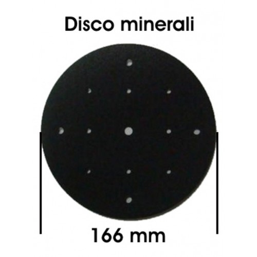Plate mineral lamp infrared with stand